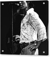 Paul Of Bad Company In 1977 Acrylic Print