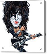 Paul Stanley Acrylic Print by Art