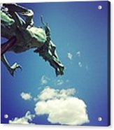 Paul's Dragon Acrylic Print
