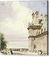 Pavilion De Flore, Tuileries, Paris Acrylic Print