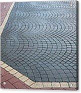 Paving Bricks Acrylic Print