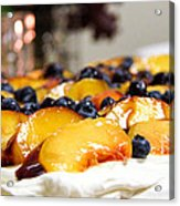 Pavlova And Candle Acrylic Print