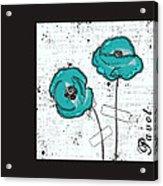 Pavot - S05-02a Acrylic Print
