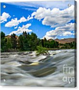 Payette River Acrylic Print by Robert Bales