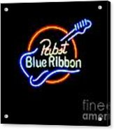 Pbr Guitar Acrylic Print