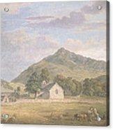 Haymaking At Dolwyddelan Acrylic Print