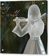 Peace Angel Acrylic Print