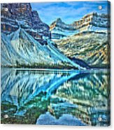 Peace At Bow Lake Acrylic Print