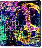 Peace Graffiti Acrylic Print