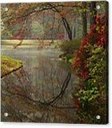 Peace In A Garden Acrylic Print