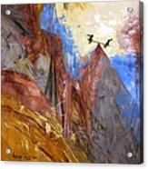 Peace Love And Joy Acrylic Print