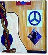 Peace - Music Acrylic Print