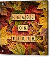 Peace On Earth-autumn Acrylic Print