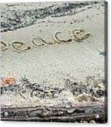 Peace On Earth Acrylic Print