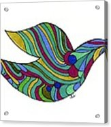 Peace Out Acrylic Print