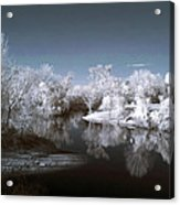 Peace River North Near Infrared Arcadia Florida Usa Acrylic Print