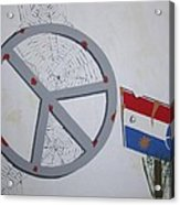 Peace Sells But Who's Buying Acrylic Print