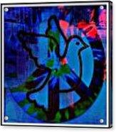 Peace Series 6 Acrylic Print