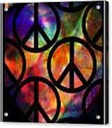 Peace Series Viii Acrylic Print