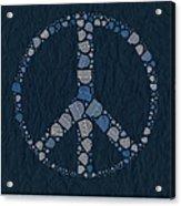 Peace Symbol Design - Bld01t01   Acrylic Print