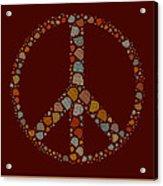 Peace Symbol Design - S05d Acrylic Print