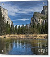 Peaceful Afternoon In Yosemite Acrylic Print