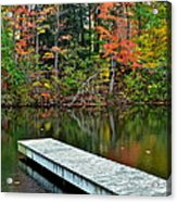 Peaceful Autumn Day Acrylic Print