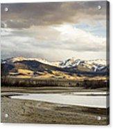Peaceful Day In Helena Montana Acrylic Print by Dana Moyer