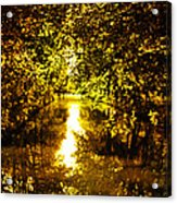 Peaceful Day In Summer Acrylic Print