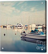 Peaceful Harbour Acrylic Print
