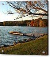 Peaceful Moment on the Lake Acrylic Print