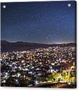 Peaceful Night In Bitola Acrylic Print