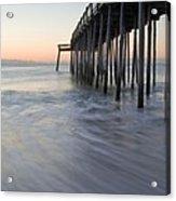 Peaceful Ocean Sunrise Acrylic Print