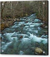 Peaceful River Acrylic Print