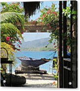 Peaceful Roatan Acrylic Print
