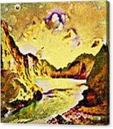 Peaceful Secret Acrylic Print by YoMamaBird Rhonda