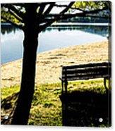Peaceful Shadows Acrylic Print