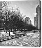 Peaceful Side Of Chicago Acrylic Print