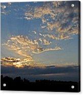 Peaceful Sunset Acrylic Print