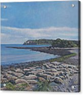 Peaceful View From Peaks Island Me Acrylic Print