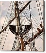 Peacemaker Rigging Acrylic Print
