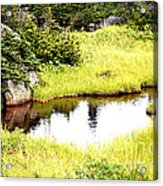 Peacful Place Acrylic Print