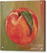 Peach Acrylic Print
