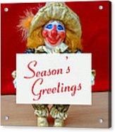 Peaches - Season's Greetings Acrylic Print