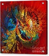 Peacock 3 Acrylic Print