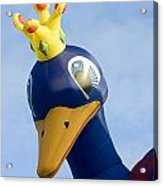 Peacock Balloon Acrylic Print