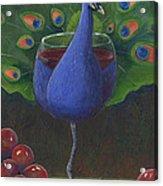 Peacock Pinot Acrylic Print