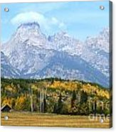 Peak Cloud Acrylic Print