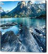 Peaks In Patagonia Acrylic Print