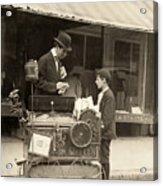 Peanut Vendor, 1910 Acrylic Print